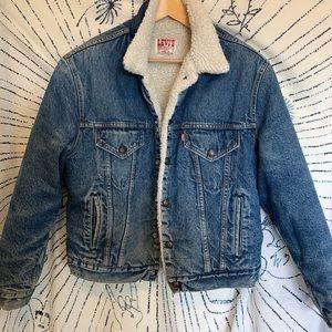 Levi's Sherpa Denim Jacket, L/44R